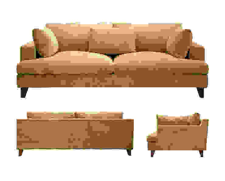 Sofa AMPLE オリジナルデザインの リビング の 株式会社 3rd オリジナル