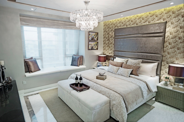 Metropolitan Heights | High-End Apartment by London Modern style bedroom by homify Modern