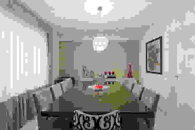 Sala de Jantar Salas de jantar ecléticas por Helen Granzote Arquitetura e Interiores Eclético