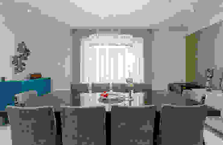 Sala de Santar Salas de estar ecléticas por Helen Granzote Arquitetura e Interiores Eclético
