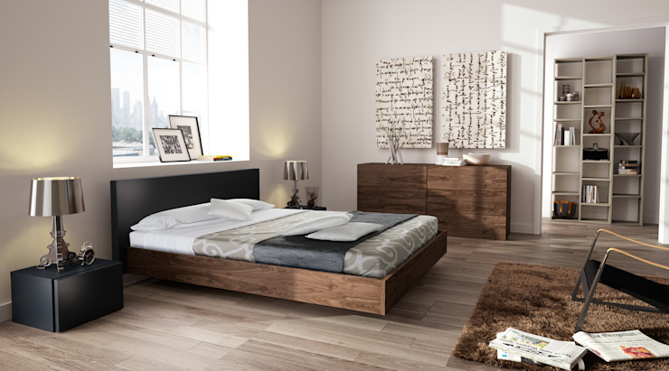 modern  by Temahome, Modern Wood Wood effect