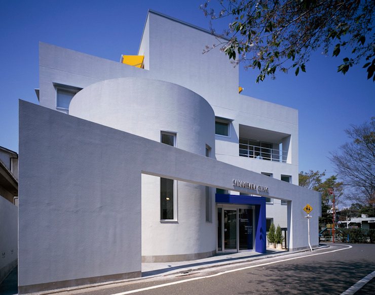 S Clinic + Residennce 久保田章敬建築研究所 Клініки