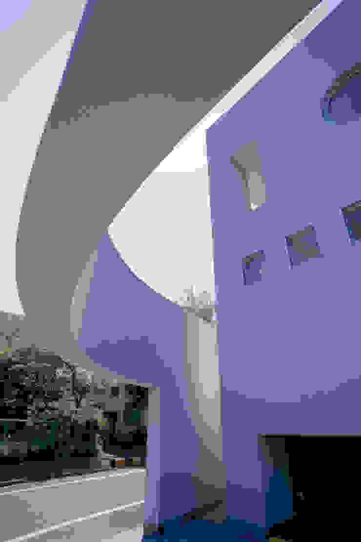 曲面のフレーム モダンな医療機関 の 久保田章敬建築研究所 モダン