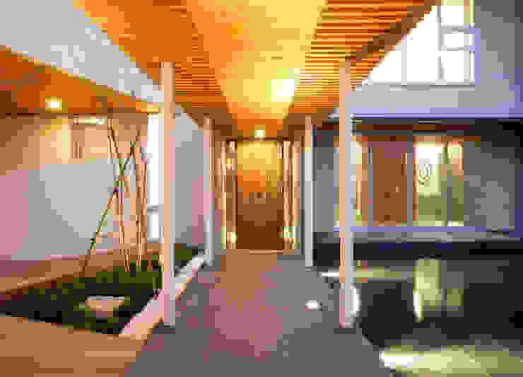 玄関アプローチ オリジナルな 庭 の Egawa Architectural Studio オリジナル