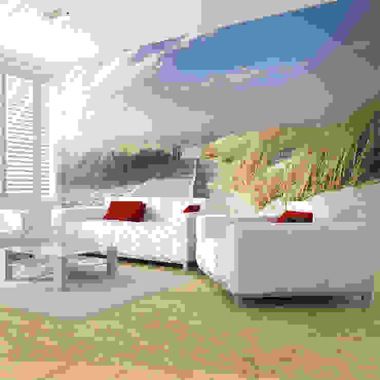 Salas de estar mediterrâneas por Hitmeister GmbH Mediterrâneo