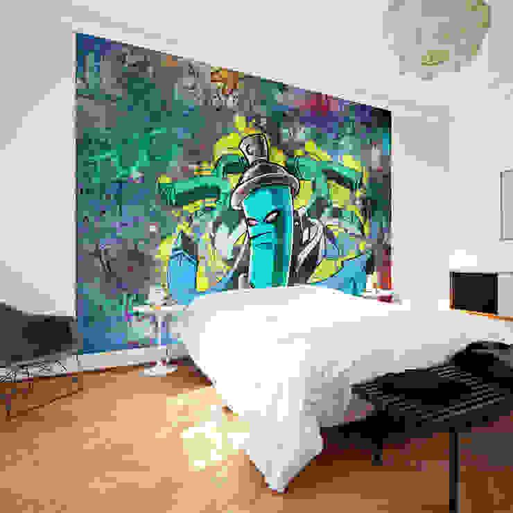 モダンスタイルの寝室 の Hitmeister GmbH モダン