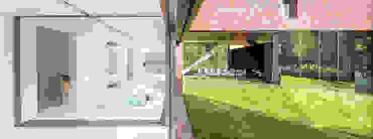 Varandas, marquises e terraços modernos por KWK Promes Moderno