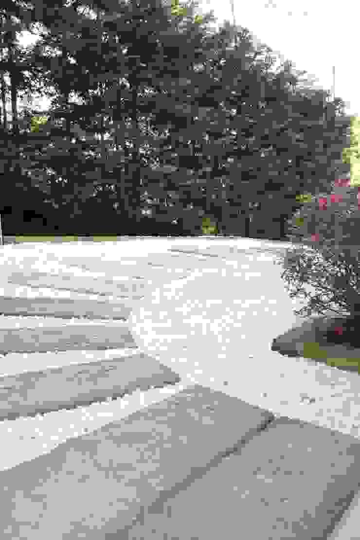 Reforma parcial casa rustica Jardines de estilo rústico de ROIMO INTEGRAL GRUP Rústico