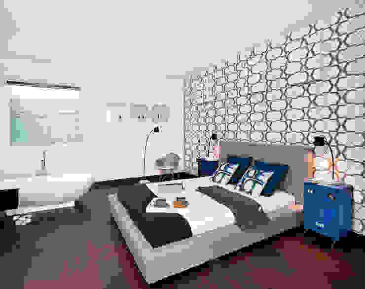 justyna smolec architektura & design Modern style bedroom