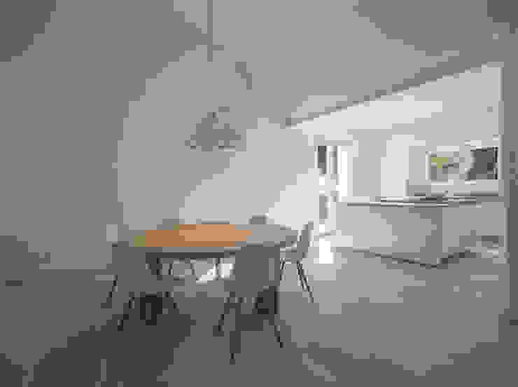 Villa C+N Cucina moderna di Sebastiano Canzano Architects Moderno