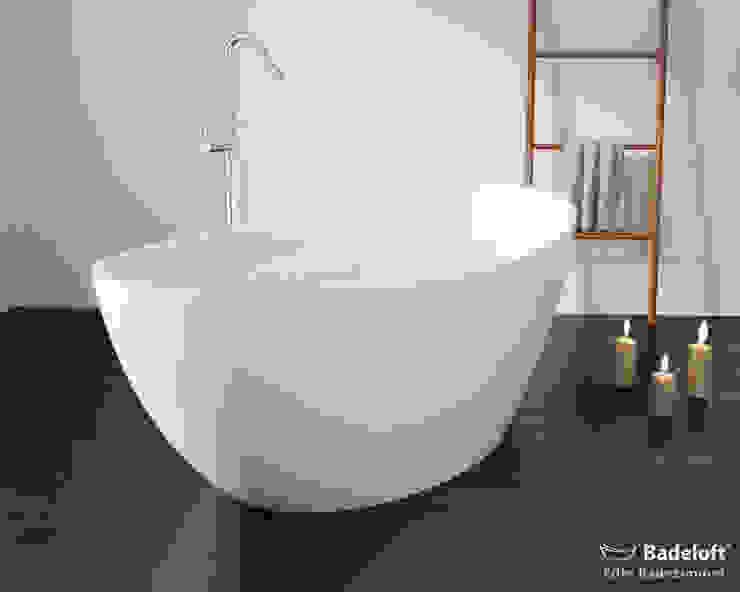 Attraktive freistehende Badewanne BW-03-L: modern  von Badeloft GmbH - Hersteller von Badewannen und Waschbecken in Berlin,Modern