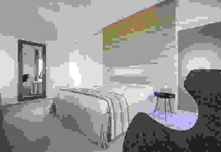 Villa C+N Camera da letto moderna di Sebastiano Canzano Architects Moderno