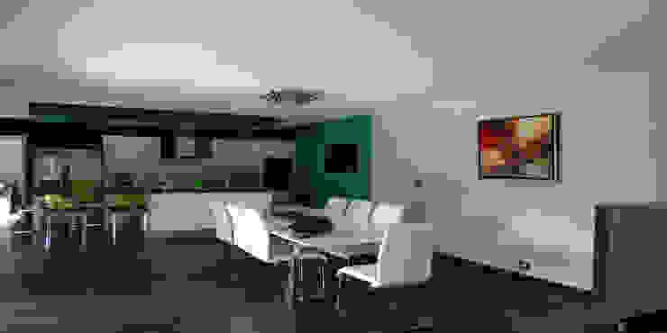 COCON DESIGN Salle à manger moderne par MFP ARCHITECTEURS Moderne