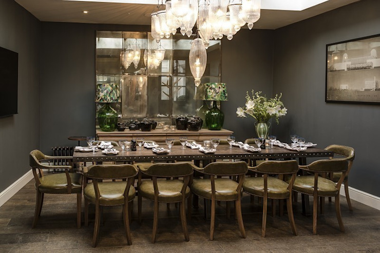 Hotel Dining Room Mirror: country  by Rupert Bevan Ltd, Country