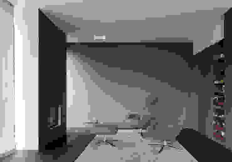 Cheminée und Bar Moderne Wohnzimmer von feliz Modern