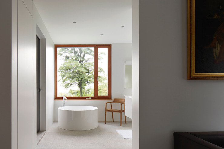 Bad im OG Moderne Badezimmer von feliz Modern