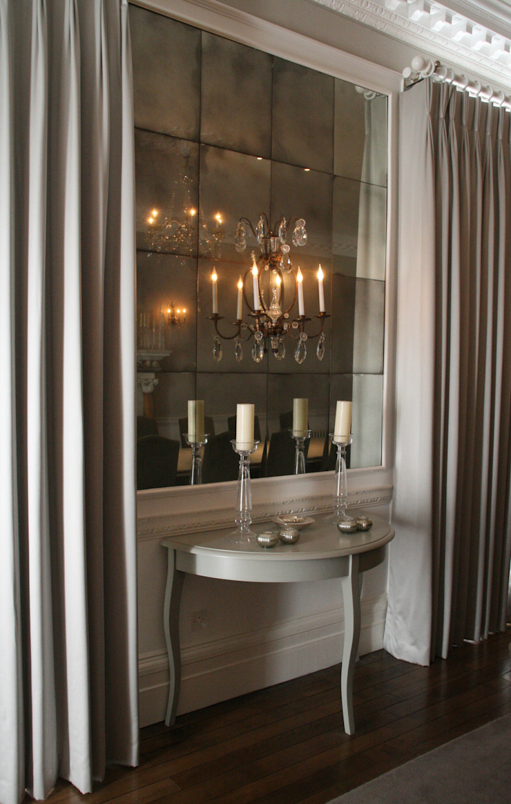 Mirrored Wall Installations Rupert Bevan Ltd Dining roomAccessories & decoration
