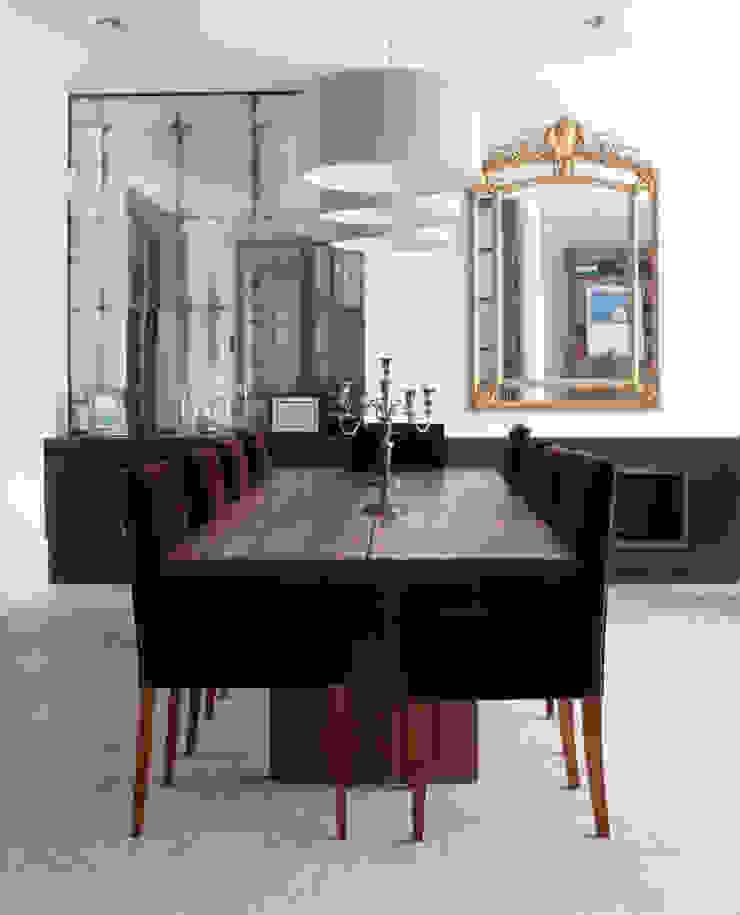 Dining Area Alcove Mirrors: minimalist  by Rupert Bevan Ltd, Minimalist