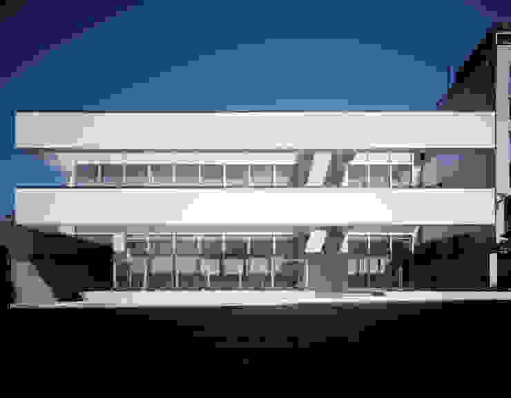 南側外観 久保田章敬建築研究所 Office buildings