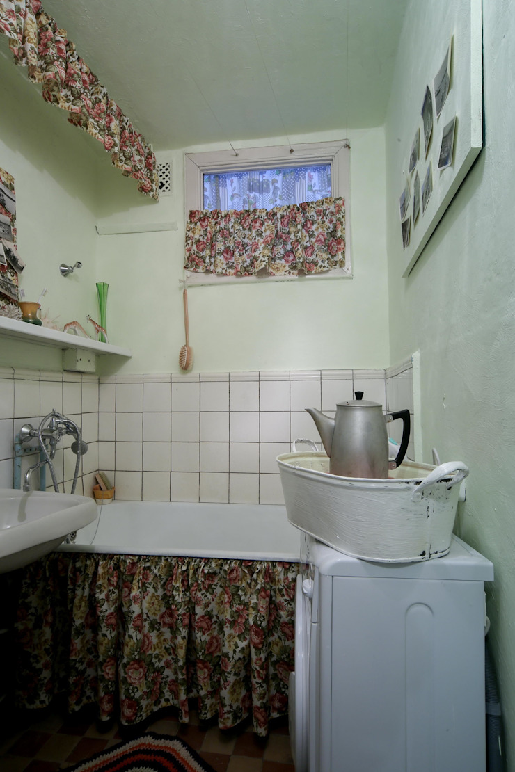 Из однушки в трешку – квартира в Москве Татьяна Апрельская - Бесплатный ремонт! Ванная в классическом стиле