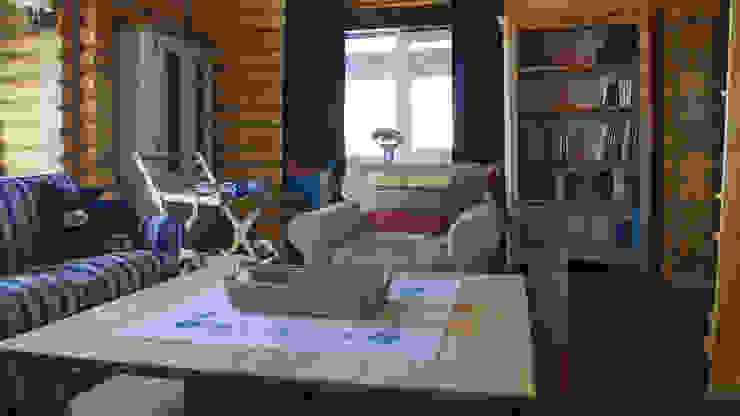 Living room by Alena Kazimirava, Rustic
