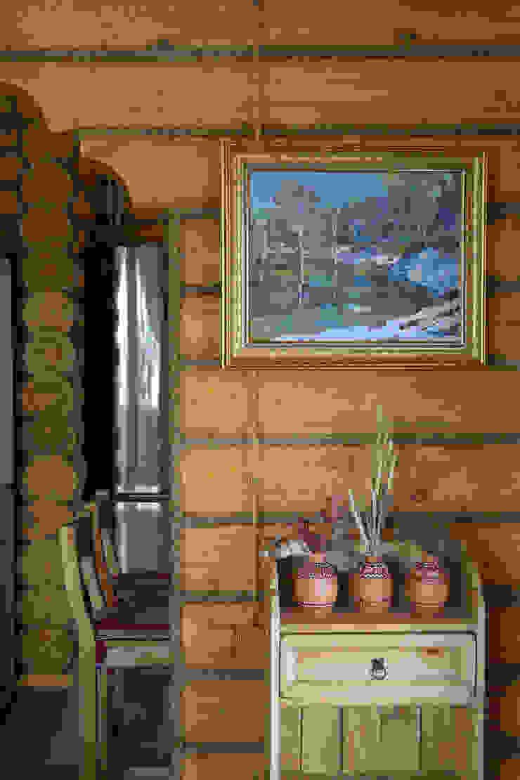 Shachebol House Rustik Oturma Odası Alena Kazimirava Rustik