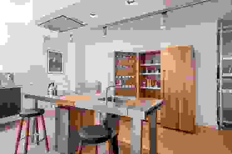 Projekty,  Kuchnia zaprojektowane przez bulthaup espace de vie Pontarlier, Minimalistyczny