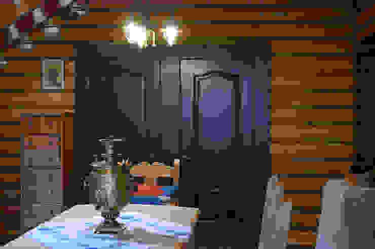 Shachebol House Rustik Yemek Odası Alena Kazimirava Rustik