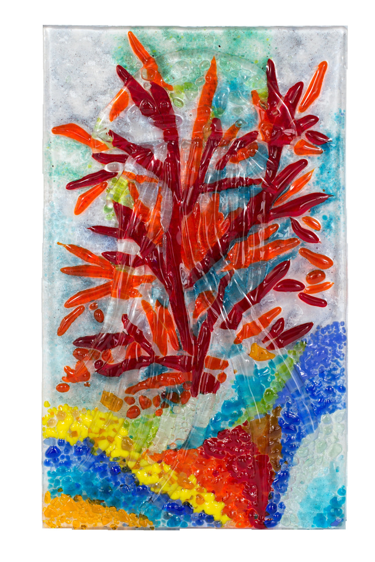 Коралл Ванная в средиземноморском стиле от Семь стекол Средиземноморский