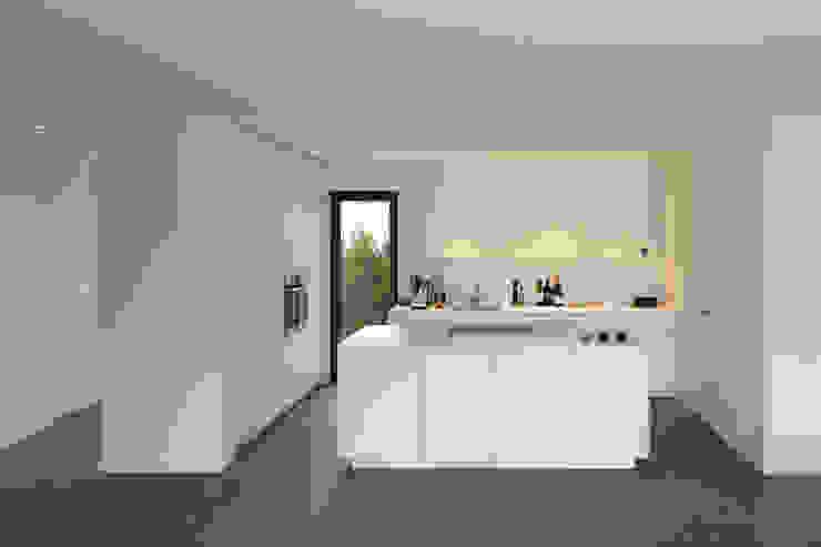 Projekty,  Kuchnia zaprojektowane przez Fachwerk4 | Architekten BDA, Nowoczesny