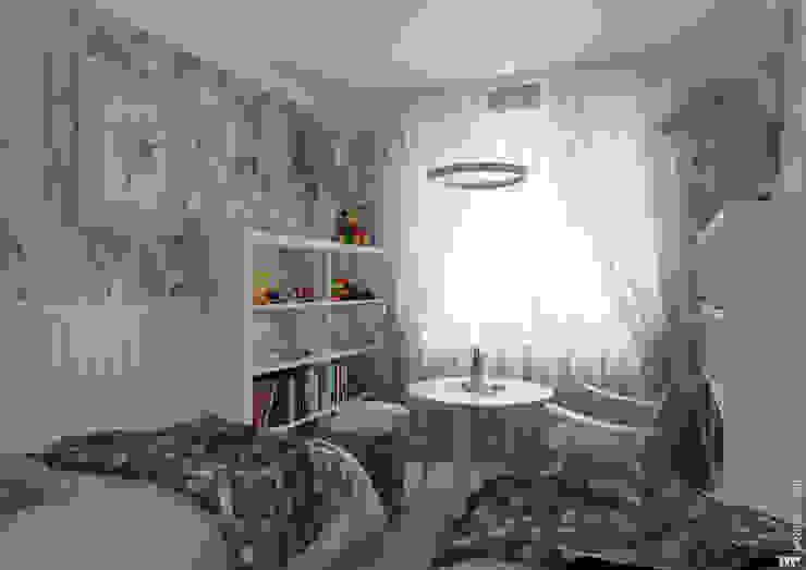 Детская младших детей Детская комнатa в скандинавском стиле от Architectured - мастерская Маргариты Рассказовой Скандинавский