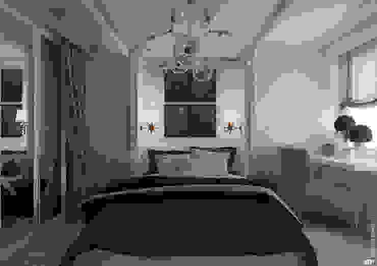 Спальня родителей Спальня в скандинавском стиле от Architectured - мастерская Маргариты Рассказовой Скандинавский