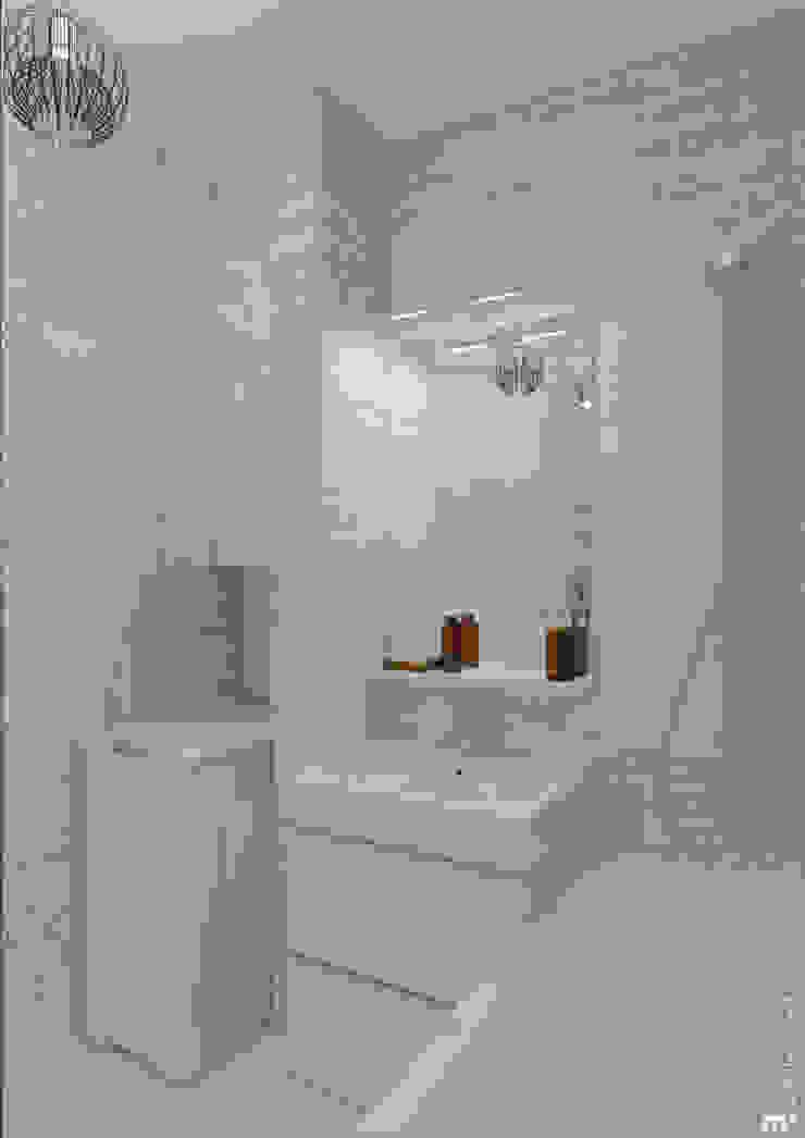 Ванная комната Ванная комната в скандинавском стиле от Architectured - мастерская Маргариты Рассказовой Скандинавский