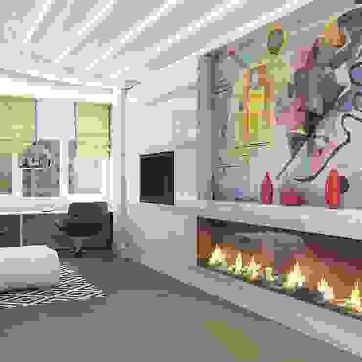 Дизайн проекты и предметы мебели Гостиная в стиле модерн от АрДи Хаус Модерн