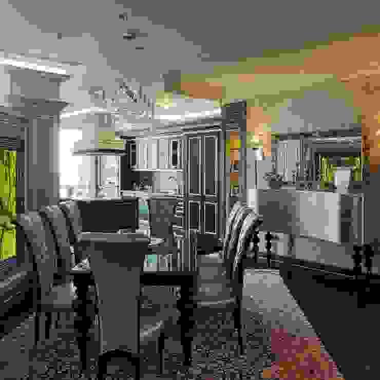 Гостиная Гостиная в классическом стиле от АрДи Хаус Классический