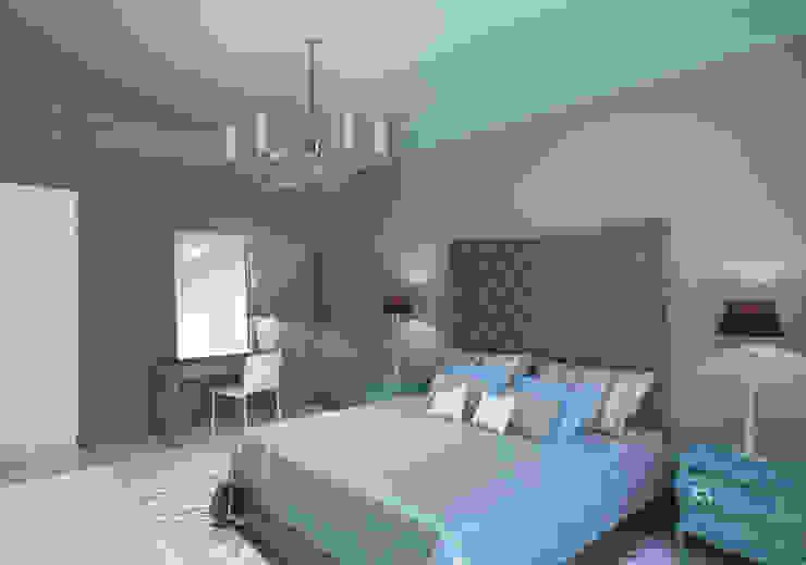 Квартира на ул. Гарибальди Спальня в эклектичном стиле от FAOMI Эклектичный