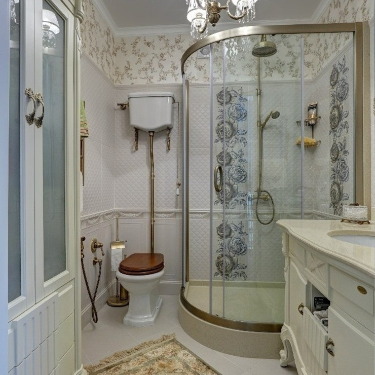 Дизайн проекты и предметы мебели Ванная в классическом стиле от АрДи Хаус Классический