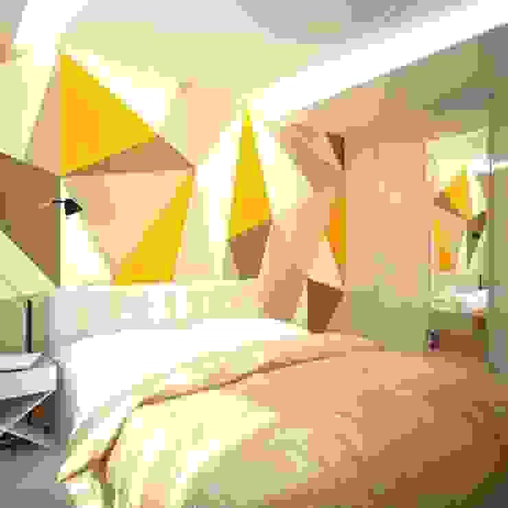 Спальня:  в современный. Автор – АрДи Хаус, Модерн