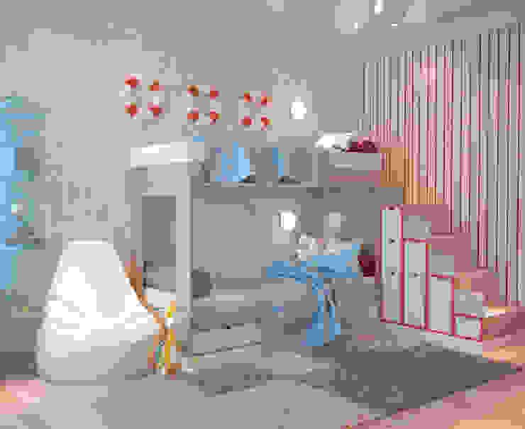 Студия дизайна ROMANIUK DESIGN 嬰兒房/兒童房