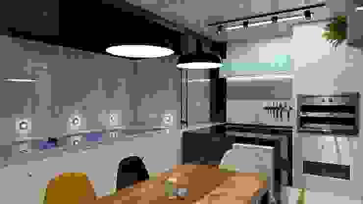 Área de Lazer Bonatto Cozinhas industriais por 285 arquitetura e urbanismo Industrial