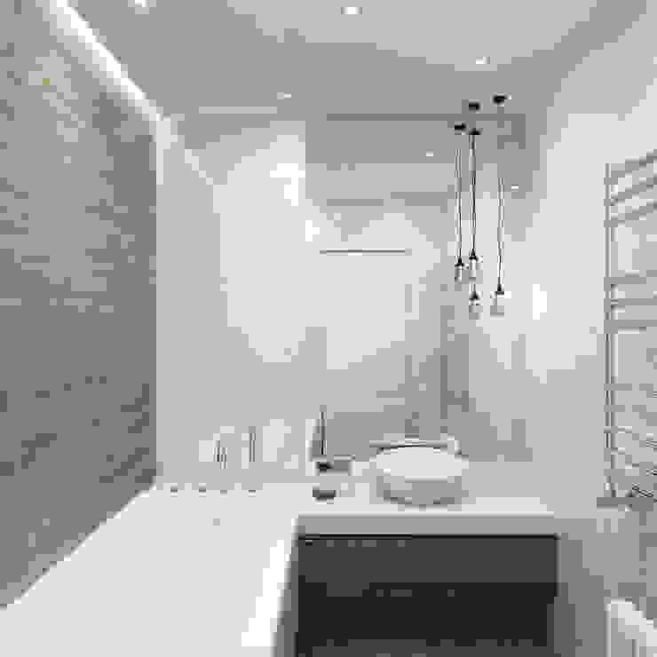 Квартира в ЖК Завидное Ванная в стиле лофт от Elena Potemkina Лофт