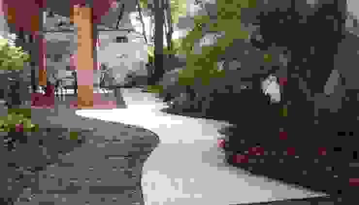 Jardines de estilo tropical de A Varanda Floricultura e Paisagismo Tropical