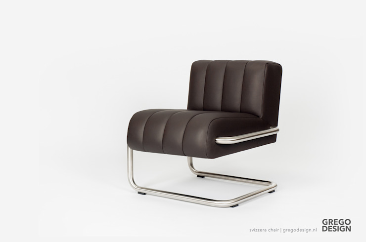 Svizzera chair: modern  door Grego Design Studio, Modern