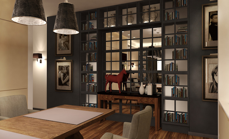 Eclectic style dining room by KOSHKA INTERIORS Eclectic