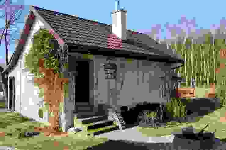 Casas de estilo rural de Grzegorz Popiołek Projektowanie Wnętrz Rural