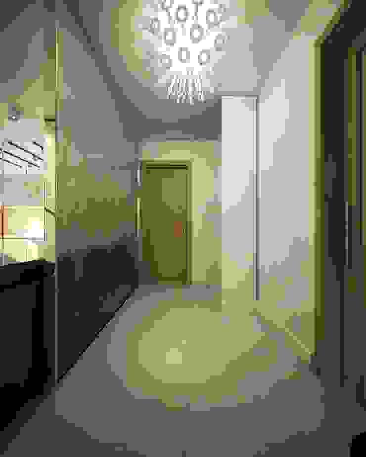 Квартира для большой семьи Коридор, прихожая и лестница в эклектичном стиле от Дизайн-бюро Анны Шаркуновой 'East-West' Эклектичный
