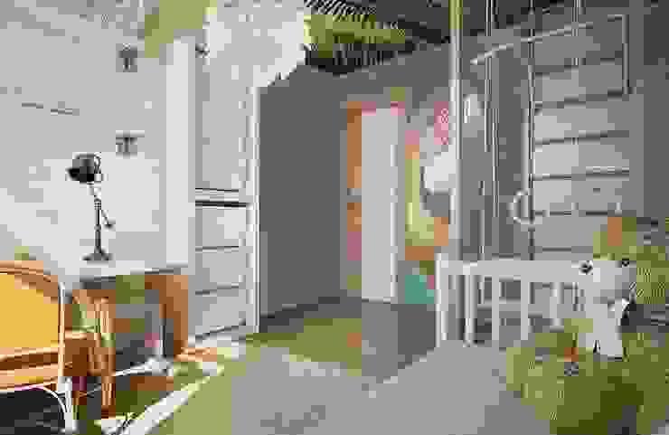 Квартира для большой семьи Детские комната в эклектичном стиле от Дизайн-бюро Анны Шаркуновой 'East-West' Эклектичный