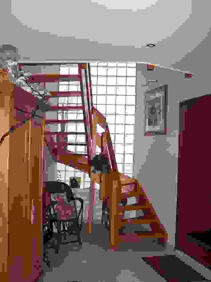 entrée de la maison par Emilie Bigorne, architecte d'intérieur CFAI Moderne