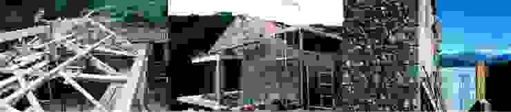 Aldeia das Dez - Durante a reconstrução:   por Almont - Projectos de Construção Civil, Lda.,