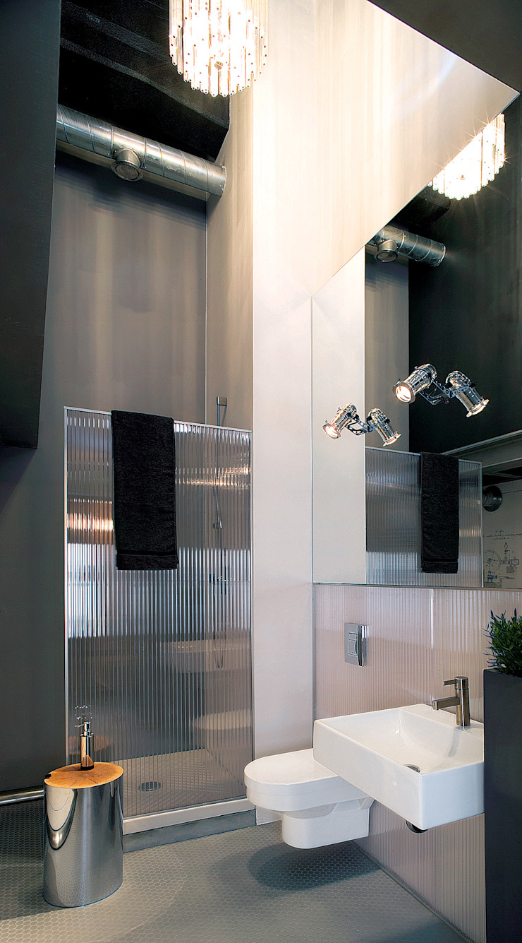 justyna smolec architektura & design Modern bathroom